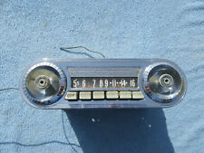 1958 Ford Edsel Original Push Button Radio