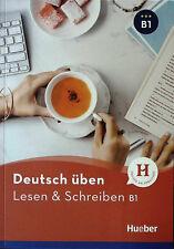HUEBER Deutsch Uben LESEN & SCHREIBEN B1 Freude an Sprachen @New Book@