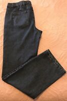 Isaac Mizrahi LIVE medium wash 24/7straight leg jeans Size 14 stretch waist