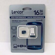 Lexar 16 GB Micro SDHC Class 10 Card USB Reader Mobile Memory