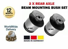 FOR VAUXHALL ASTRA H 1.7 1.8 1.9 2.0 2004-2011 NEW 2 x REAR BEAM MOUNTING BUSH