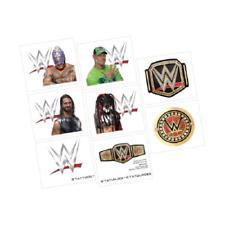 WWE Temporary Tattoos - 1 sheet, 8 tattoos