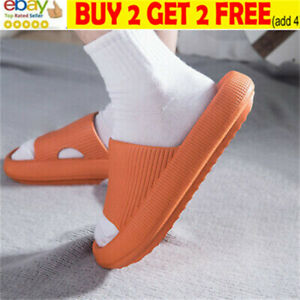 Pillow Slides Sandals Ultra-Soft Slippers Extra Soft Cloud Home Shoes Anti-Slisa