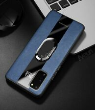 For Huawei P40 P30 P20 Pro Lite Luxury Magnetic Leather Case Ring Soft TPU Cover