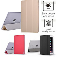 Case Cover Fit For Apple iPad Pro Air 6th Generation Smart Stand Leather NEW