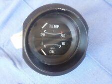 75-78 DATSUN 280z Water temp oil pressure gauge instrument original oem