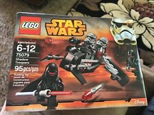 LEGO Star Wars Shadow Troopers 95 Pieces - NEW 75079 retired 4 mini figure set