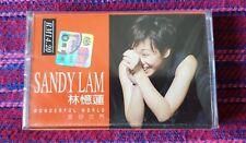 Sandy Lam ( 林憶蓮) ~ Wonderful World ( Malaysia Press ) Cassette
