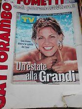 Tv Sorrisi e Canzoni N. 34 Irene Grandi anno 2000  - Mondadori Ottimo