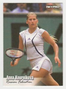 ANNA KOURNIKOVA 2003 Netpro Tennis ROOKIE Card RARE SP #91 MINT Russian RC🎾🔥