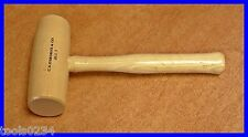 CS Osborne 89.5-3 Hickory Wood Mallet - Size 3 12 oz Wooden For Arch Punch Use