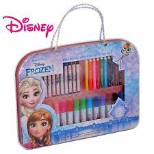 Disney Frozen Malkoffer Schreibset 36-tlg Stifte Malen Zeichnen Kinder Malset