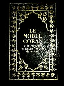 Le Noble Coran(hamidullah) 22x15 AR/FR cuir