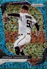 2020  Panini Prizm Baseball Jordan Yamamoto TEAL Disco Miami Marlins /15 #116