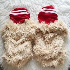 NEW J VALENTINE DA BOMB Hamster Halloween Costume Red Gogo Rave Legwarmers