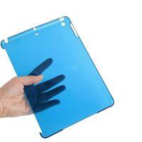 Schutzhülle f Apple iPad Air 5 Crystal Case Cover Tasche Schale blau