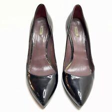 Miu Miu Prada Pointed Heels Black Patent Women's 9 39
