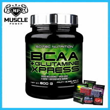 SCITEC BCAA + GLUTAMINE XPRESS 600G AMINO ACIDS TAURINE RECOVERY LEAN MUSCLE