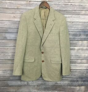 Halston Pure Lamb's Wool Men's Blazer (Size: 41R)