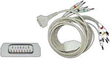 EKG-Diagnosekabel, GE/Hellige, MAC-Series, MicroSmart, 10-adrig, kpl.