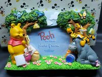 *RARE VTG* Disney Winnie the Pooh and Friends Tigger Eeyore Piglet Picture Frame