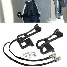 1 Pair Nylon Cycling MTB Road Mountain Bike Bicycle Pedal Toe Clip Strap Belts
