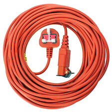 Flymo Power Compact 330 9643304-01 12M Extension Cable And Moulded Plug Genuin