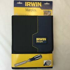 IRWIN MARPLES WOOD CHISEL 5pc SET MS750 durability 6, 10, 13, 19, 25mm case