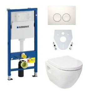 Design Wand WC Set Geberit Duofix Vorwandelement WC-Sitz Schallschutz UD-8