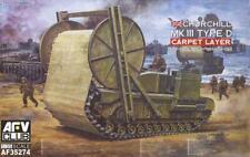 1/35 AFV Club Churchill Tank Mk III Carpet Layer Type D #35274