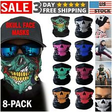 Neck Tube Headwear for Women Men Outdoor SIHOHAN 6PCS Neck Gaiter Multifunctional Bandana Face Mask
