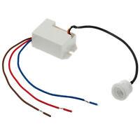 Détecteur de Mouvement PIR Capteur interrupteur 230V AC max. 800W