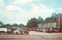 Valdosta Georgia~Shamrock Motel~1971 Postcard