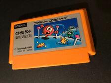 Clu Clu Land Nintendo Famicom Jap Unboxed No Manual