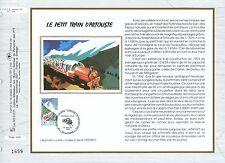 FEUILLET CEF / DOCUMENT PHILATELIQUE / LE PETIT TRAIN D'ARTOUSTE 1993 LARUNS