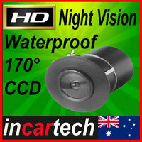 Bumper Style CCD Night Vision Car Rear View Reversing Backup Camera Wide 170°