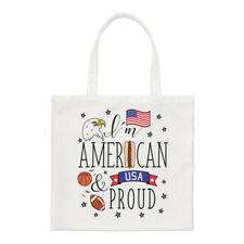 I'M Américain et Proud Standard Sac Drapeau USA America Épaule