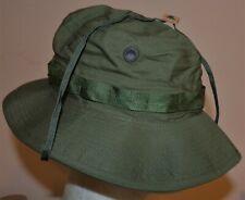 Original Vietnam War Era U.S. Army Boonie Hat - 1969 - Unworn Cond. With Net