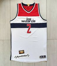 NBA Jersey Authentic Rev30 John Wall Washington Wizards Noche Latinas size 2XL