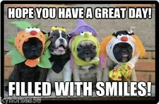 Funny Dog Humor Hope You Have A Great Day Refrigerator Magnet