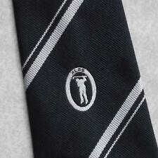 Vintage Golf Tie Mens Necktie Retro Sport Golfing Club Society