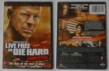 Live Free or Die Hard unrated movie U.S. dvd, sealed