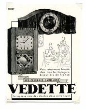 1940 / Publicité pour HORLOGE VEDETTE / CARILLON / FRLD156
