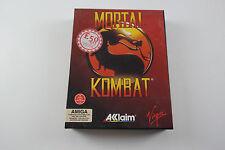 Mortal KOMBAT Vergine Gioco per il computer Commodore AMIGA Testato & Lavoro