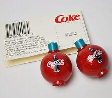 2 Stück Coca Cola Coke Angel Zubehör Schwimmer Fishing Bobbers USA 1996