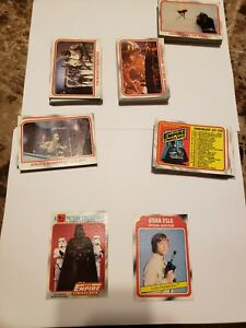 1980 Topps Star Wars Empire Strikes Back Complete Card Series 1 Set #1-132 mint!