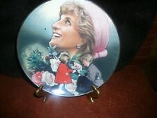 Collector plate. Diana, Princess of Wales, England's Rose, Excellent Condition