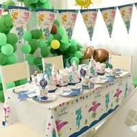 Birthday Party Dinosaur Theme Tablewaret Kids Decor Set gift XMAS Scene Layout