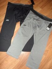 "2 mens  athletic short pant  ~ XL ~ gray & black ~ Skechers Sport 19"" inseam"