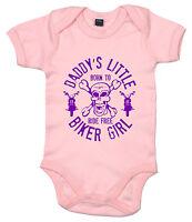 "Baby Biker Bodysuit ""Daddy's Little Biker Girl"" Sons Anarchy Babygrow Funny"